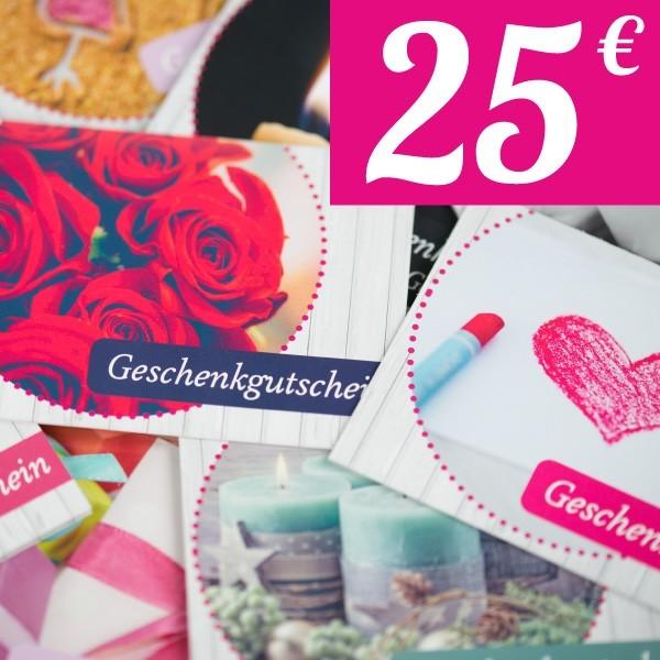Geschenkgutschein 25€
